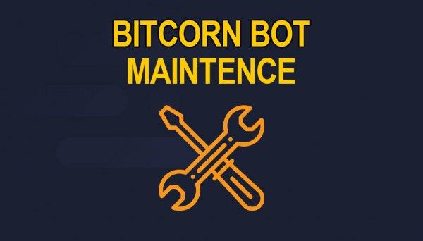 bitcorn bot maintenance
