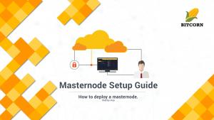 BITCORN v3 Masternode Setup Guide