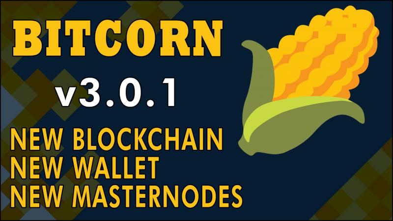 BITCORN Update v3.0.1