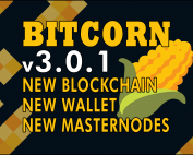 BITCORN Wallet Update version 3.0.1