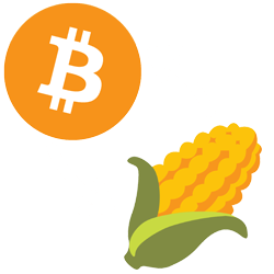 btc to corn