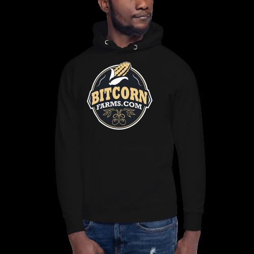 BITCORN Retro Badge Hoodie