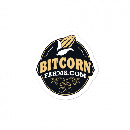 BITCORN Farms Sticker
