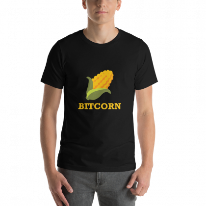 BITCORN Short-Sleeve Unisex T-Shirt