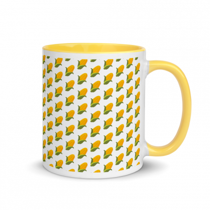 BITCORN Coffee Mug Corn Logo