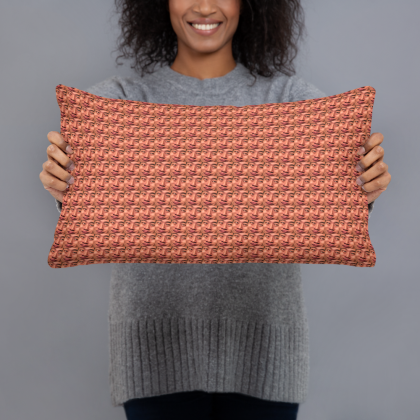 BITCORN Throw Pillow TK