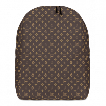 BITCORN Corny Vuitton Minimalist Backpack