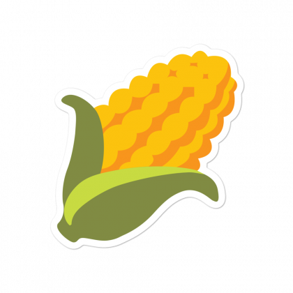 BITCORN Logo Sticker
