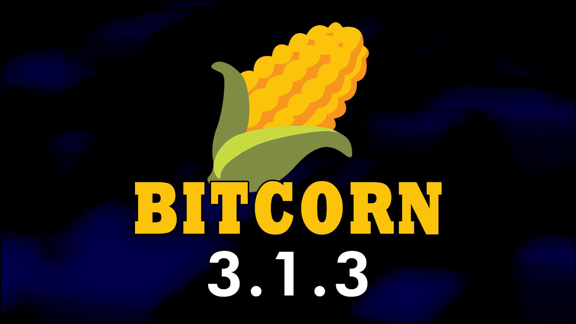 BITCORN Masternode v3.1.3